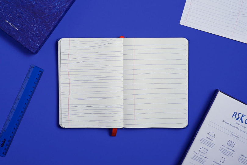 Askew: A Ruled Notebook Like No Other from Debbie Millman - Design ...