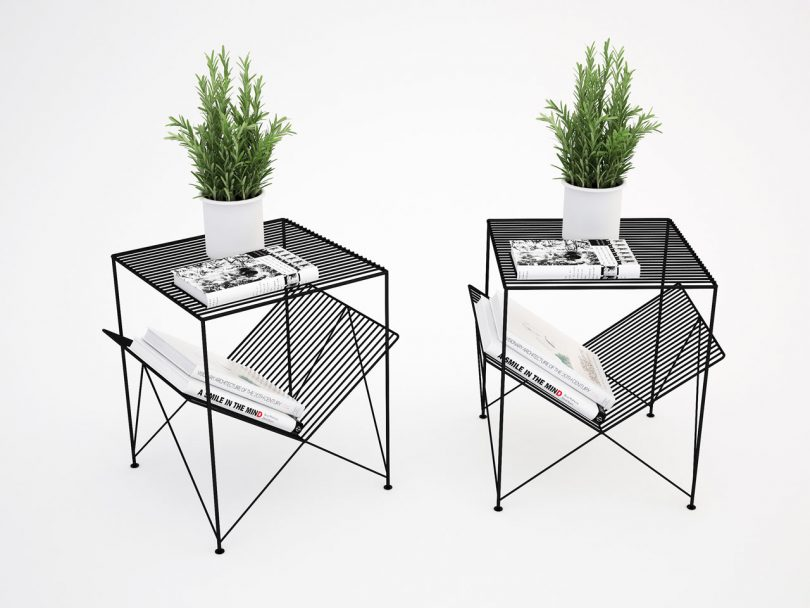 Atria Side Table from Gliese Design