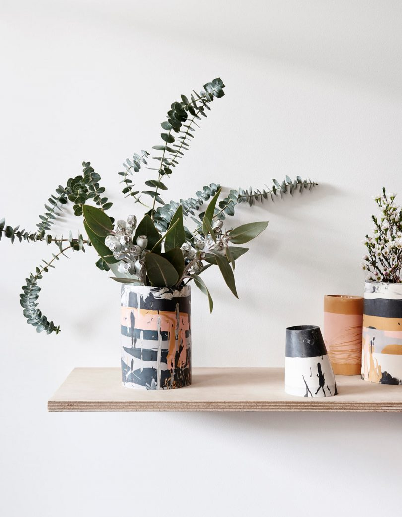 Eco Resin Vases by Capra Designs