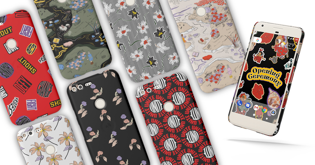 """Opening Ceremony and Google """"Unite"""" With Phone Case Designs"""