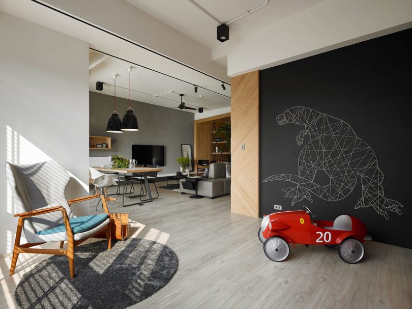 An Apartment in Taiwan That Keeps the Children in Mind Design Milk