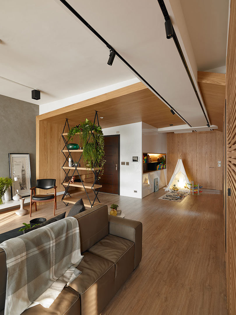 An Apartment in Taiwan That Keeps the Children in Mind - Design Milk