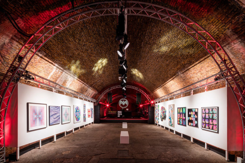 No Commission: London installation \\\ Photo courtesy of Ed Reeve