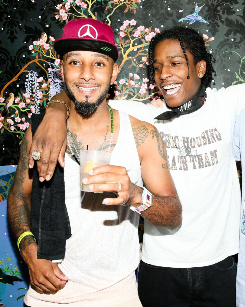 Swizz and A$AP Rocky at No Commission NY \\\ Photo courtesy of Angela Pham BFA