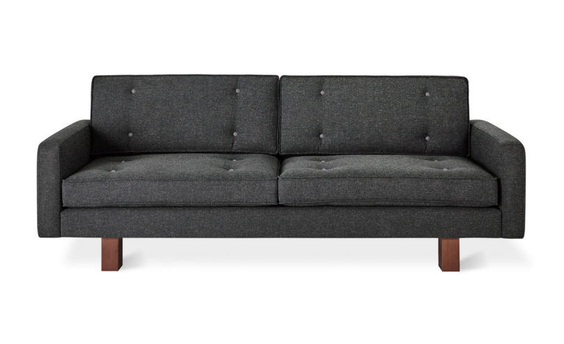bradley sofa in berkeley metro with berkeley metro buttons - Berkeley Modern Furniture