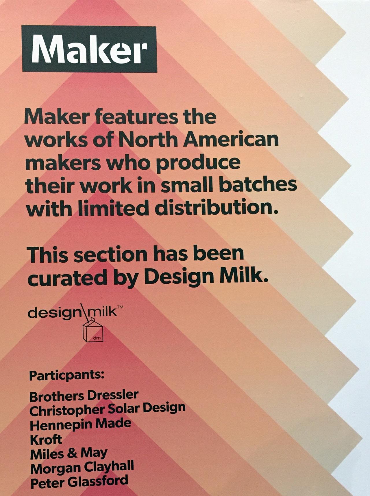 North American Makers at IDS Toronto