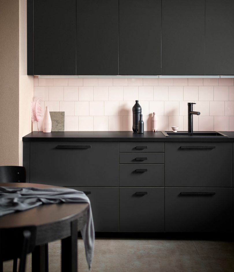 Ikea Kitchen Fronts: IKEA Kitchen Fronts Made Of Recycled Plastic & Reclaimed