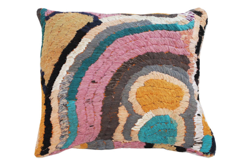 Vintage Floor Pillows : Vintage Textile Floor Pillows from Kelly Behun Studio - Design Milk