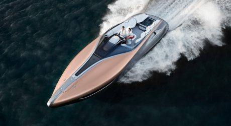 The Lexus Sport Yacht Concept Floats Our Boat