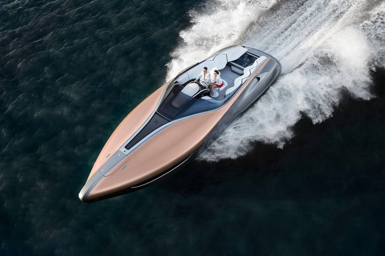 The Lexus Sport Yacht Concept Floats Our Boat