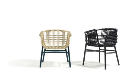 Lukis: A Modern Rattan Armchair Made with Traditional Methods