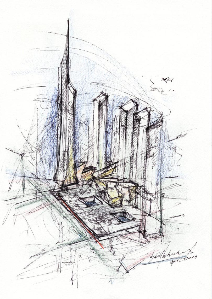 Listen episode 23 of clever daniel libeskind design milk for Denver art museum concept
