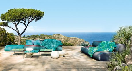 Modular Outdoor Seating Full of Color and Texture