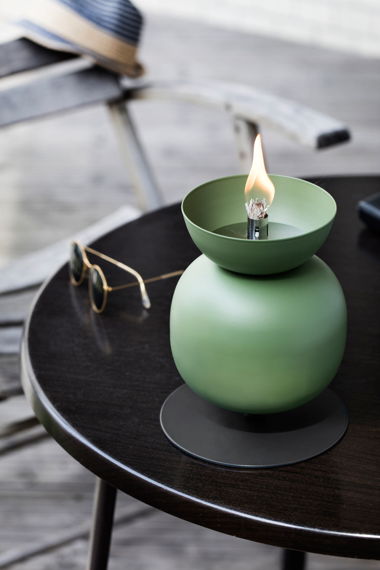 Poppy: Oil Lamps for Outdoors