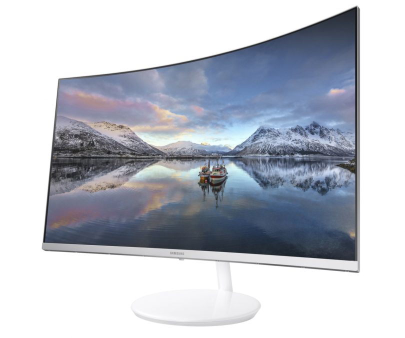 CES 2017: Samsung Goes Curvy with New Quantum Dot Monitor