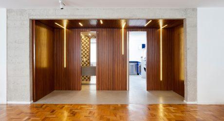 Tria Arquitetura Transforms a 1970s Apartment in São Paulo, Brazil