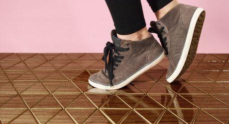 Flexible Wood Floor Mats from Sitskie Design Studio
