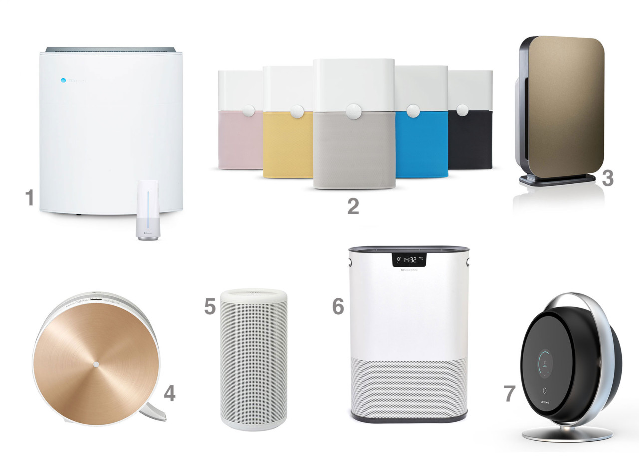 Stylish and Silent Air Purifiers for the Beautiful Home Design Milk