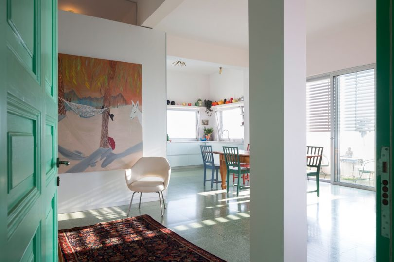 A Colorful Tel Aviv Apartment by the Sea