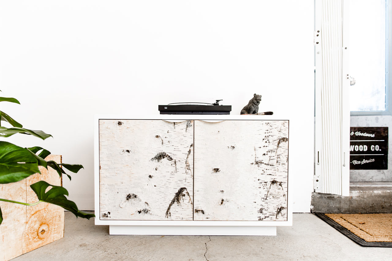 The Birch Bark Series by Union Wood Co