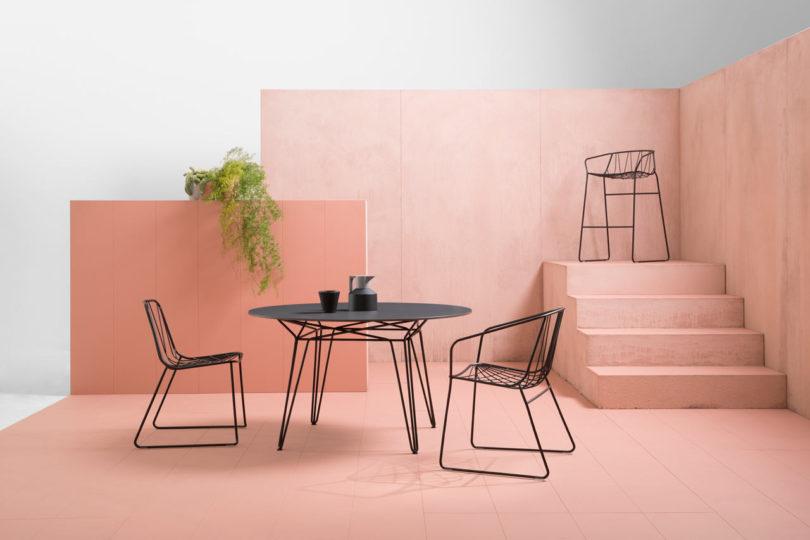 Funky Orange And Black Living Room Inspiration - Living Room Designs ...