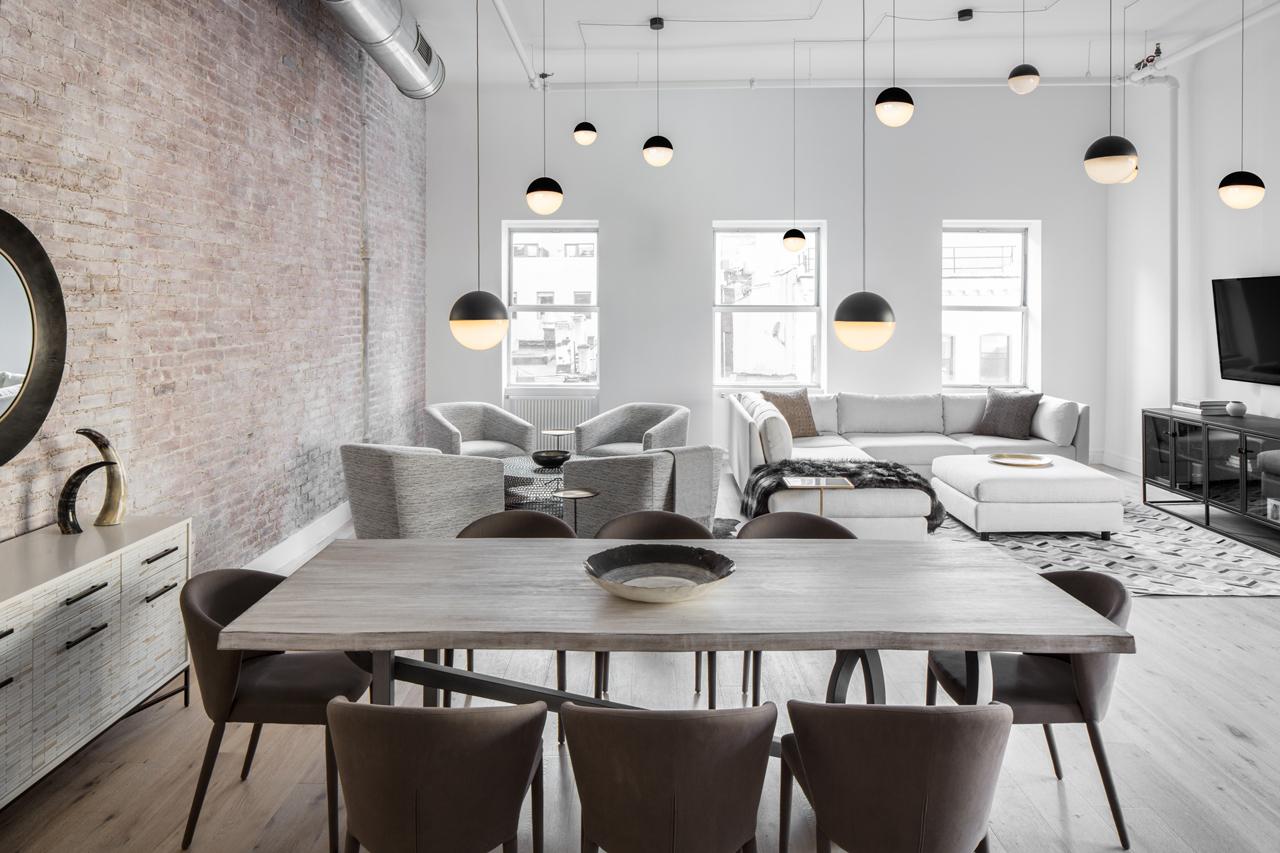 industrial loft decor. interesting u style bedroom design home
