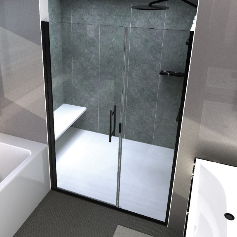 Coastal Shower Doors Launches Modern Shower Doors by Bobby Berk - Design Milk & Coastal Shower Doors Launches Modern Shower Doors by Bobby Berk ...