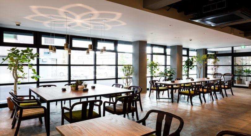 the drop inn & cafe: a minimalist hostel in tottori, japan