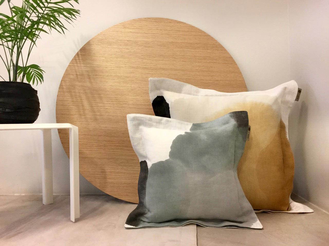A Pillow Collaboration Between Federico Churba And Agave Design  # Muebles Federico Churba