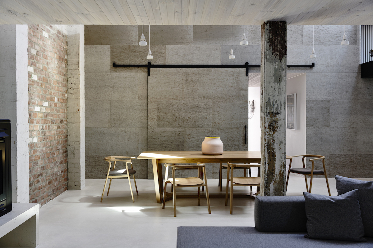 Loft By Design fitzroy loftarchitects eat - design milk