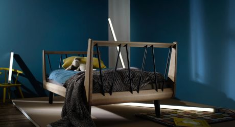 uuio Gives a New Spin on a Child's Bed