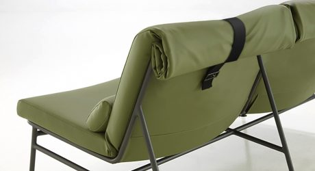 Backpack: Outdoor Seating Inspired by Camping