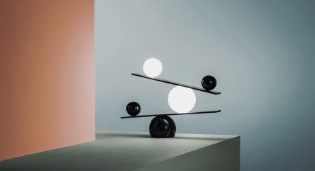 Balance Lamp by Victor Castanera