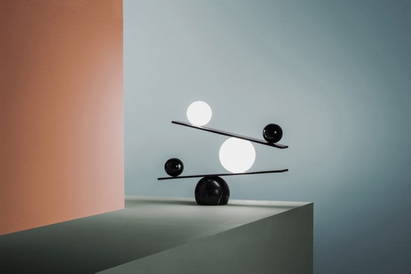 Balance Lamp by Victor Castanera
