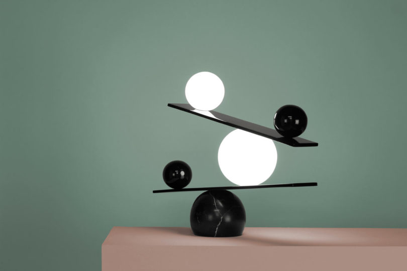 Balance lamp by victor castanera design milk for Victor castanera