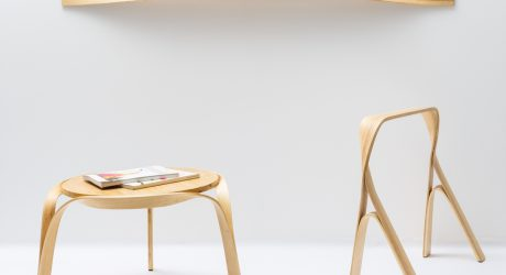 Bar Gantz Creates Furniture Through Steam Bending