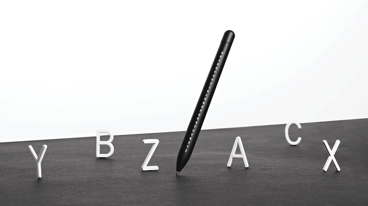 Baron Fig Introduces a Limited Edition Pen That Celebrates the Alphabet
