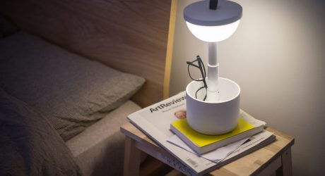 Bento: A Portable, Interactive Lamp from Yuue Design