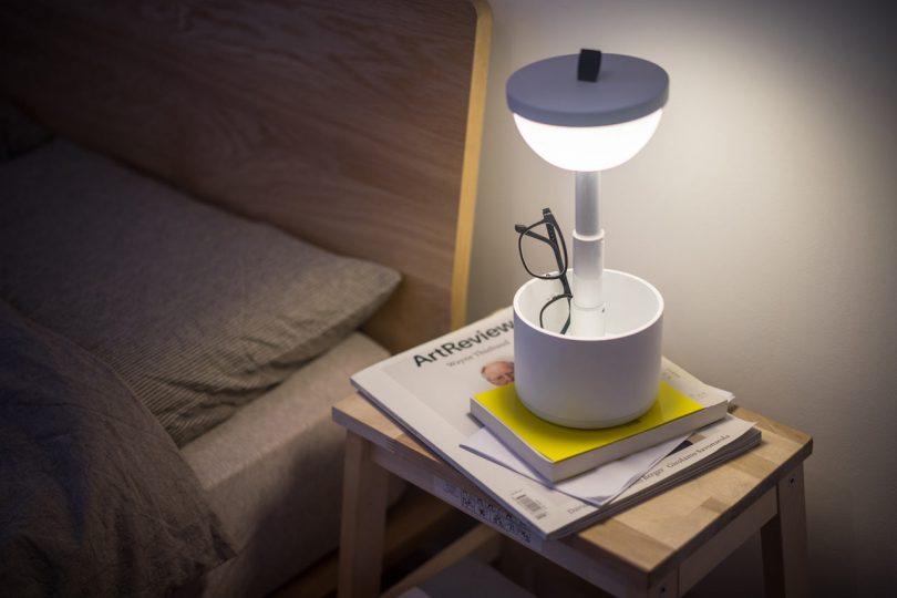 Bento: A Portable, Interactive Lamp from Yuue Design