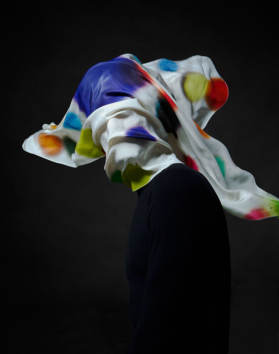 COSMOS: Silk Scarves Designed Using a Unique Algorithm