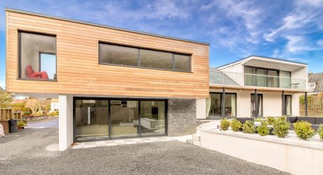 A Run Down House is Transformed into a Modern Home