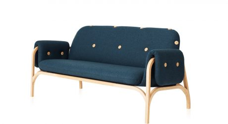 Frontu0027s Button Sofa Honors Swedeseu0027s Scandinavian Heritage