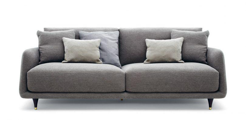 Elliot: A Cozy Gentlemen's Sofa with a Retro Detail
