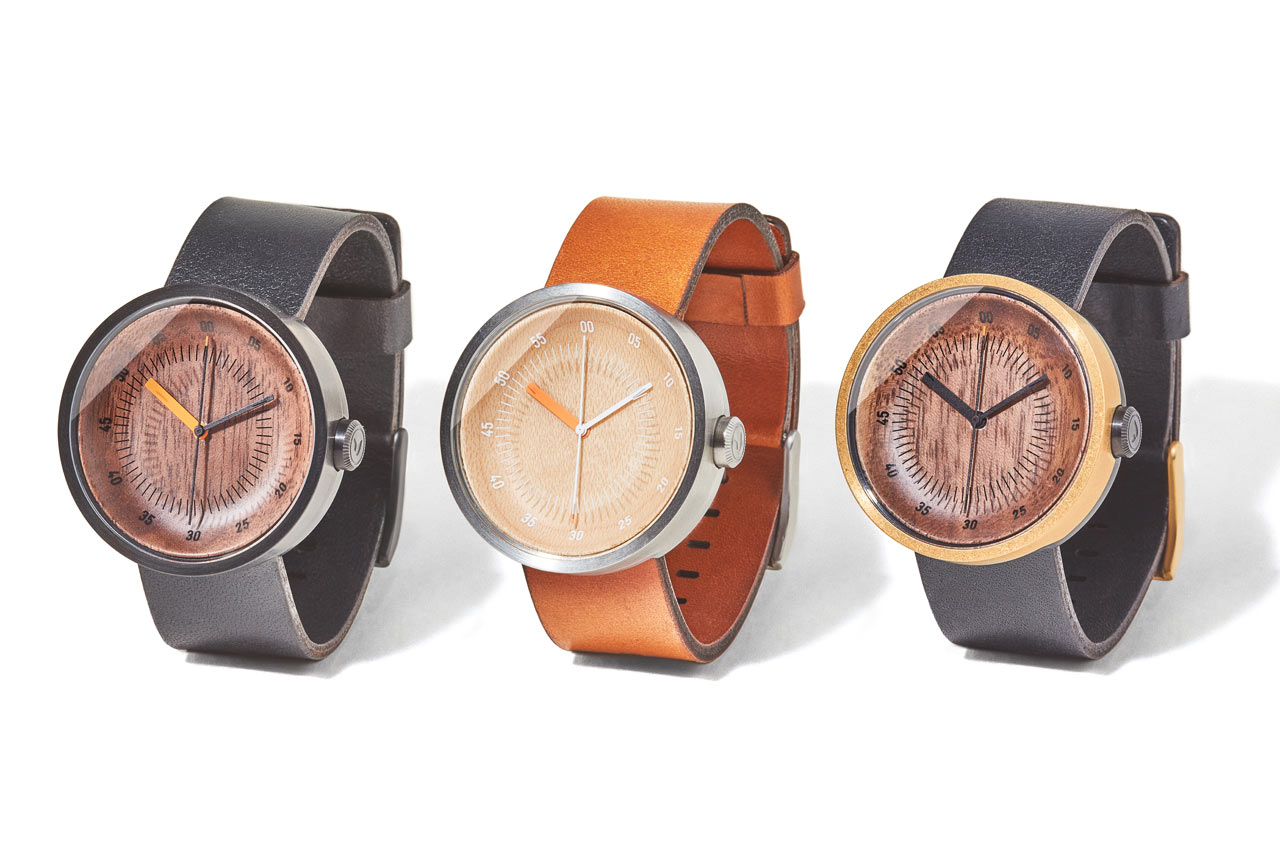Grovemade Debuts Wood and Leather Watch Collection