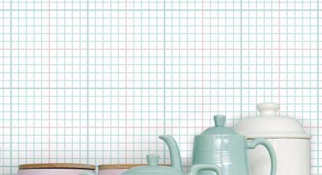 Wallpaper That Will Take You Right Back to School in the 80s