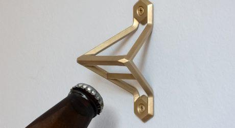 Brass Bottle Openers by Wander Workshop