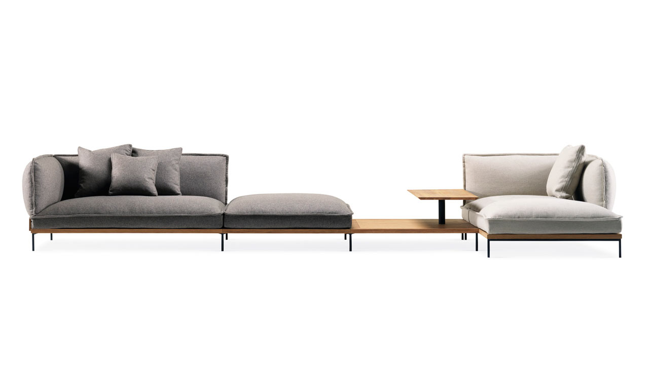 Jord: A Modular Sofa That Blends Italian and Swedish Roots