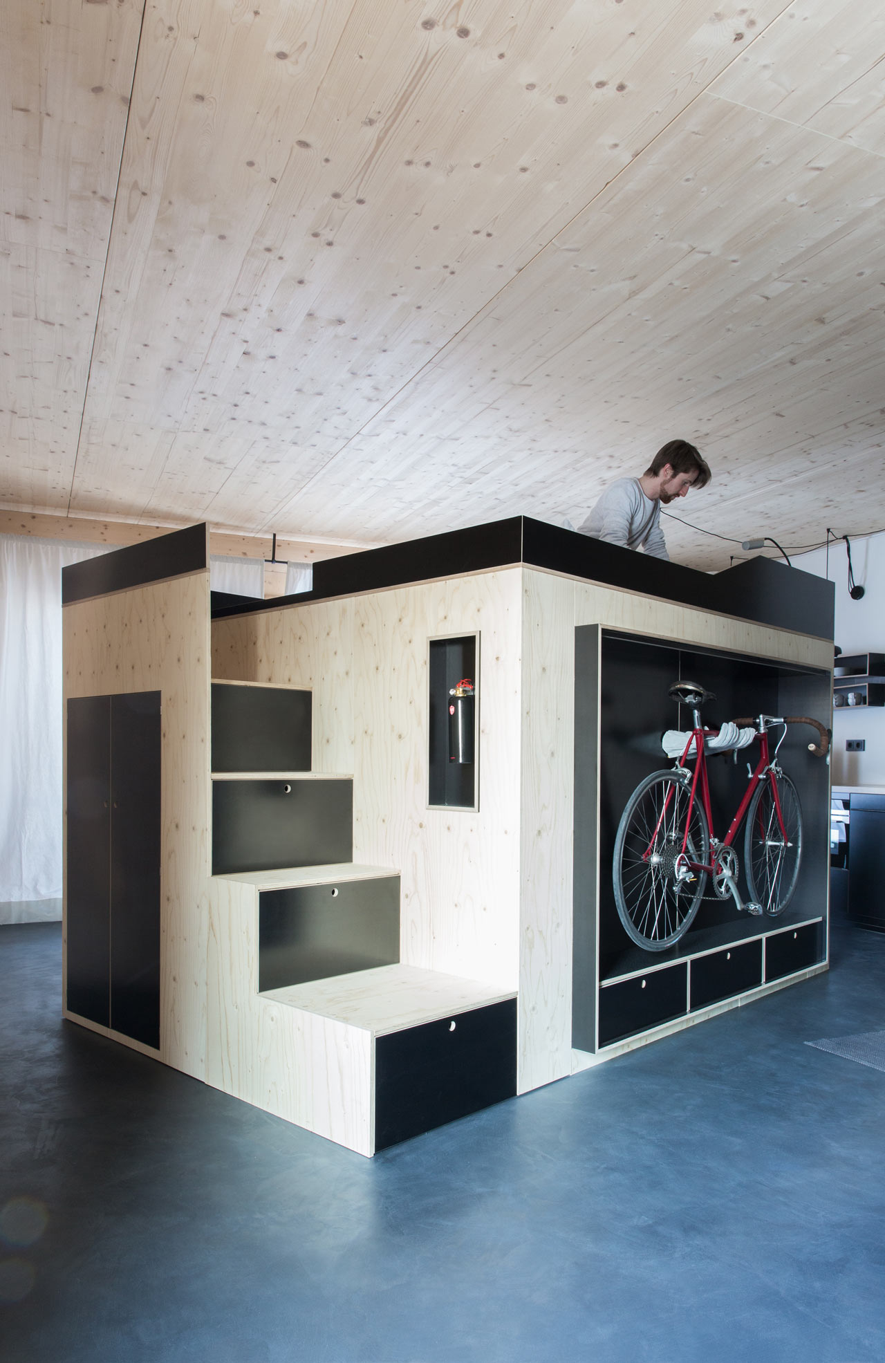 A Cube Like Room Within a Room Design Milk