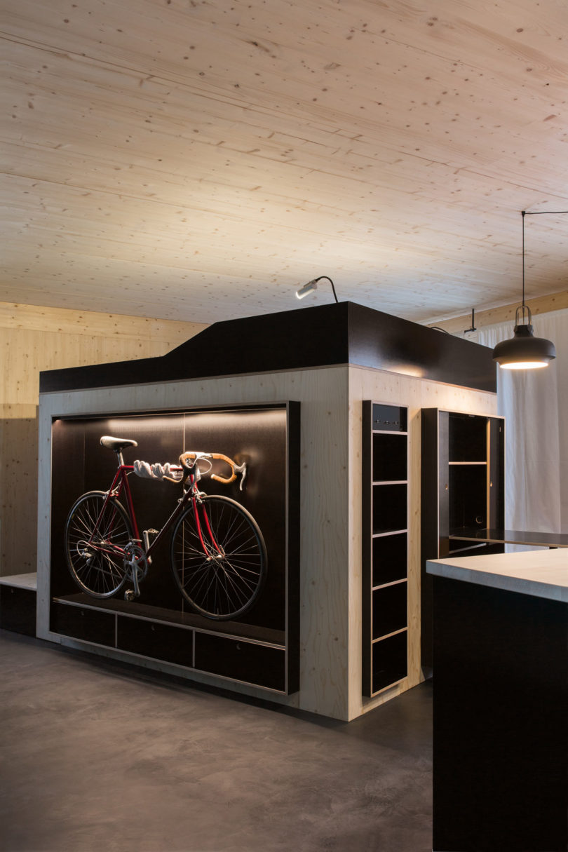 A Bike Room within a Room blog