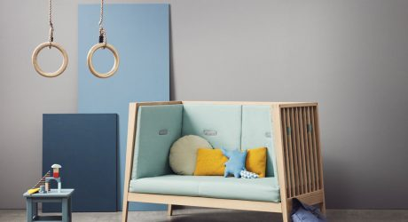 Leander's Linea Cot Takes Your Tot From Crib to Sofa